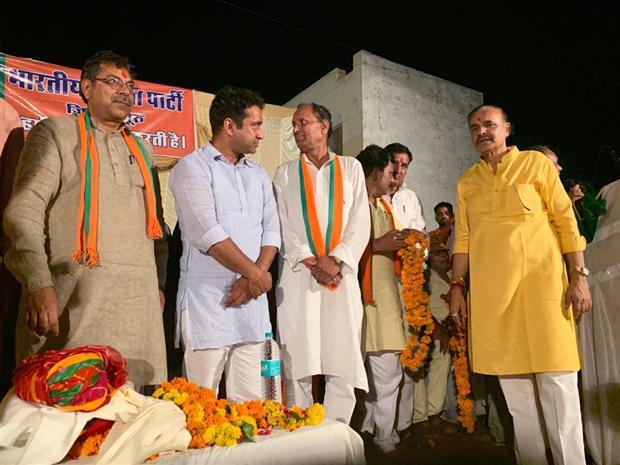 Mangilal Pujari Salasar, Sujangarh (Churu) Rajasthan