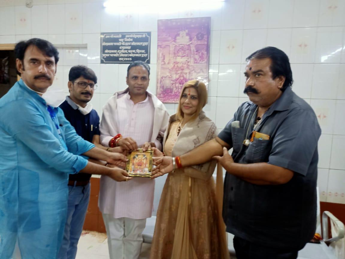 दिल्ली भाजपा उपाध्यक्ष ने किये बालाजी के दर्शन