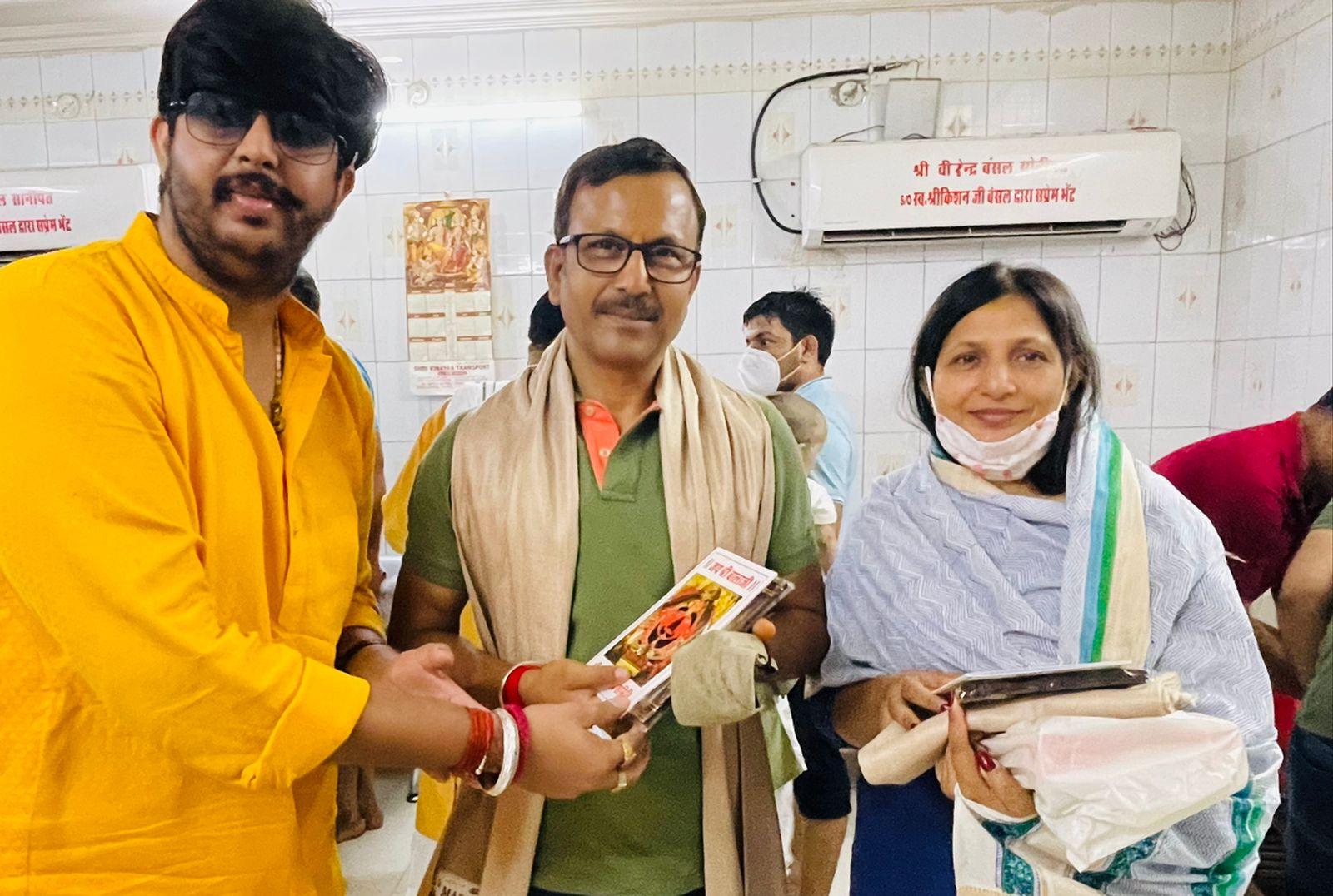 चंदीगढ़ पुलिस महानिरीक्षक ने किये बालाजी के दर्शन